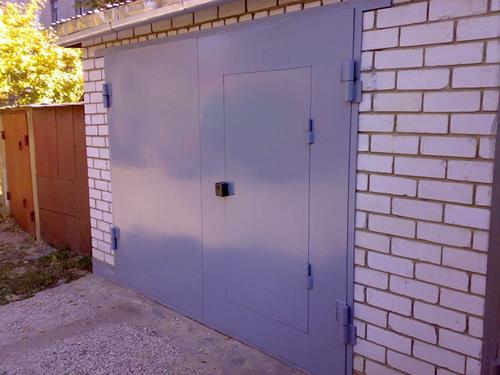 Изготовление металлических ворот в гараж аренда земельного участка под установку металлического гаража